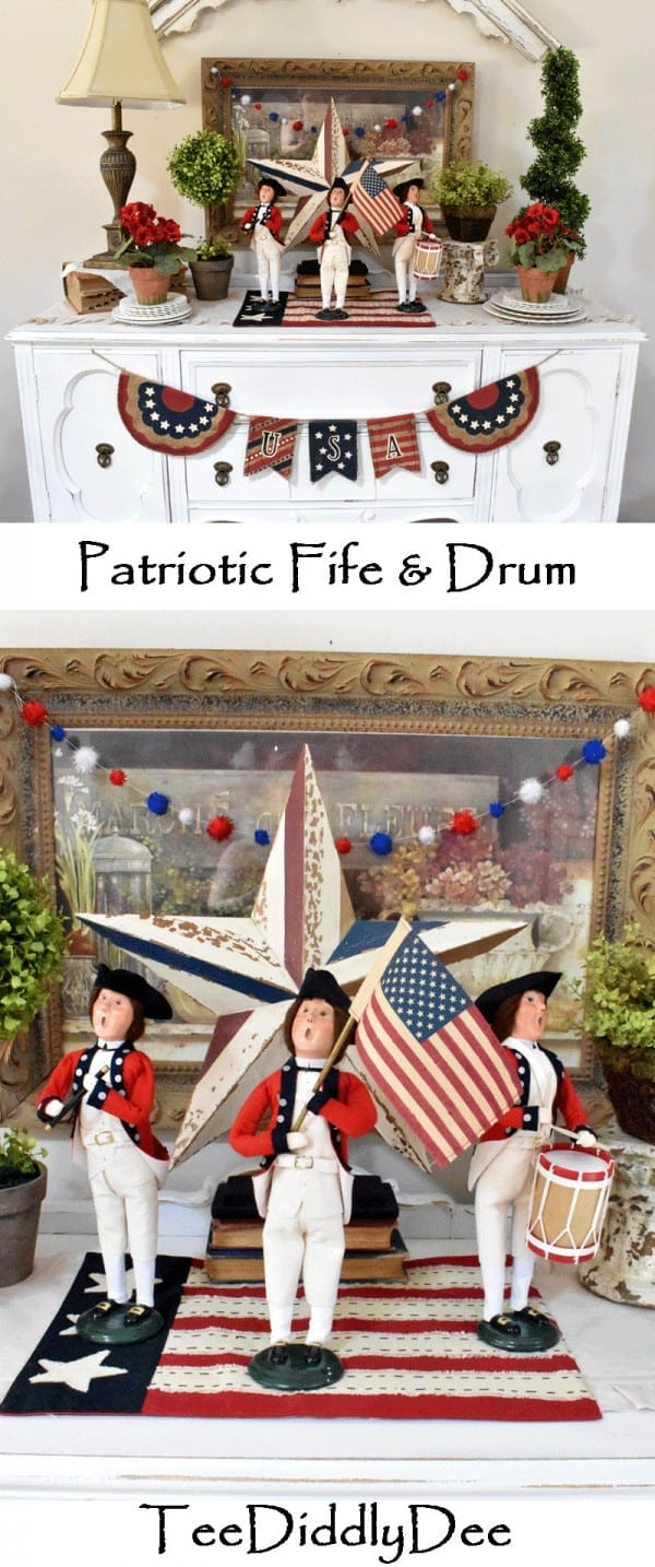 Patriotic Fife and Drum Display