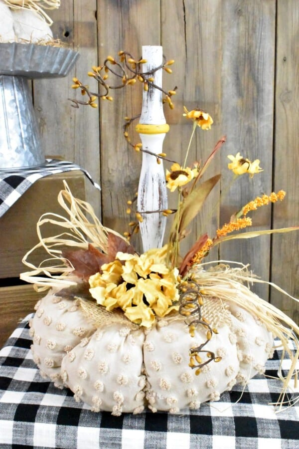 Vintage Spindle & Spool Pumpkins