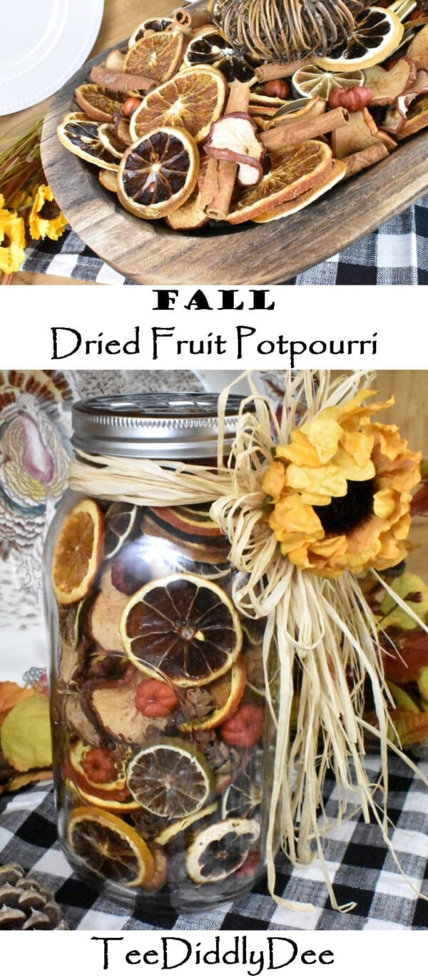 Fall Dried Fruit Potpourri
